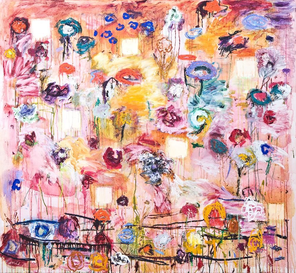Joan Snyder, Postmardemgarden, 1995