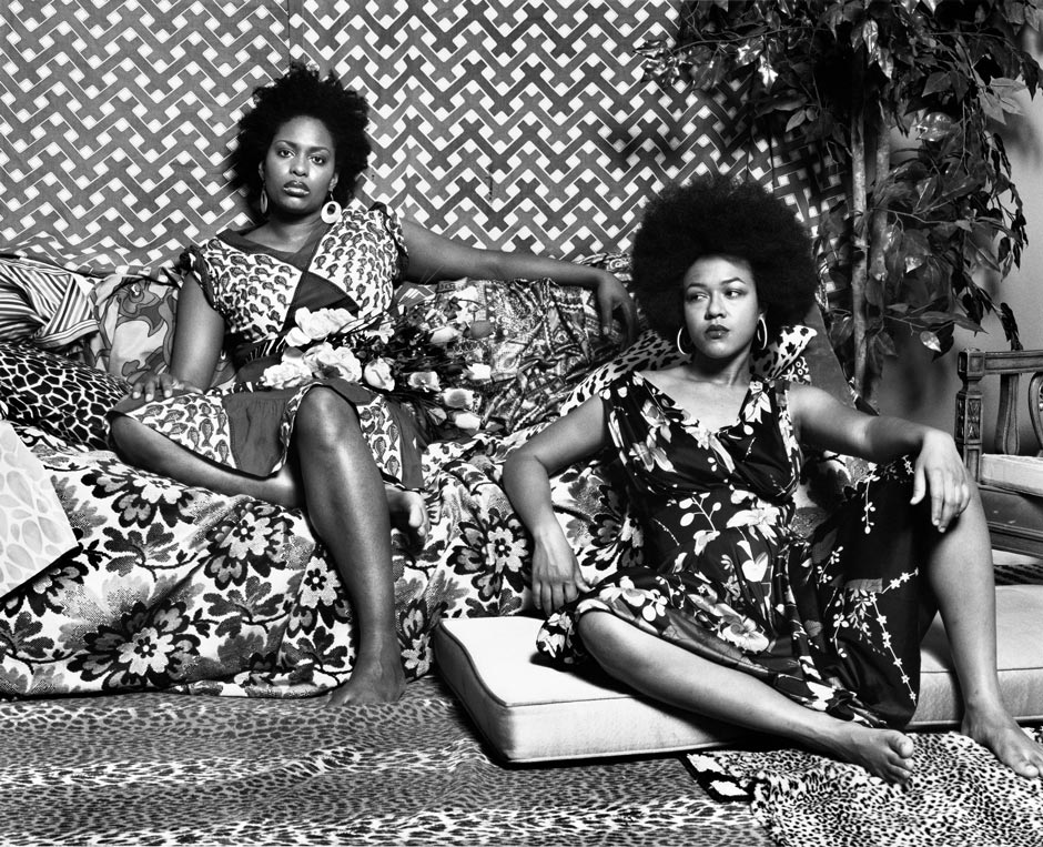 Mickalene Thomas, A Portrait in Black and White