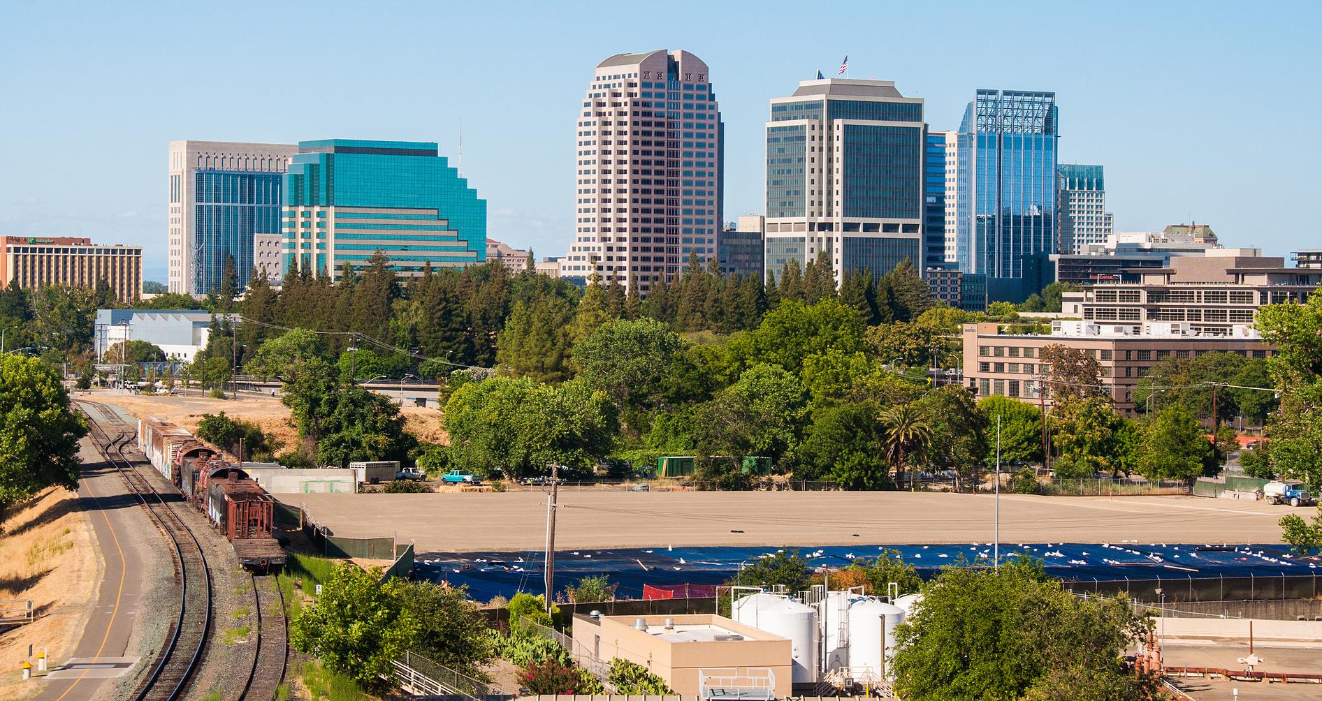 Sacramento Walks, California shots, USA