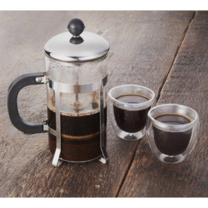 Modena French Press & Glass Set