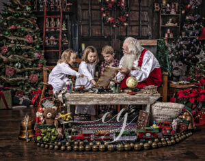 Heirloom Fine Art Santa Photos