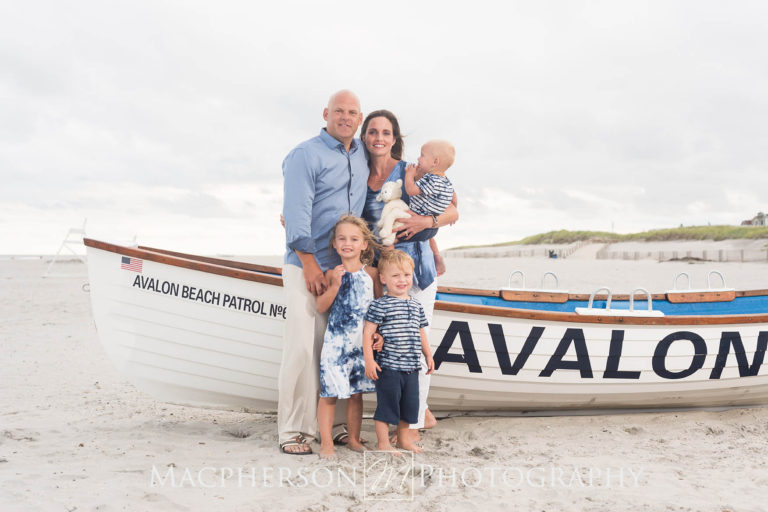 the best family beach photographers in avalon new jersey