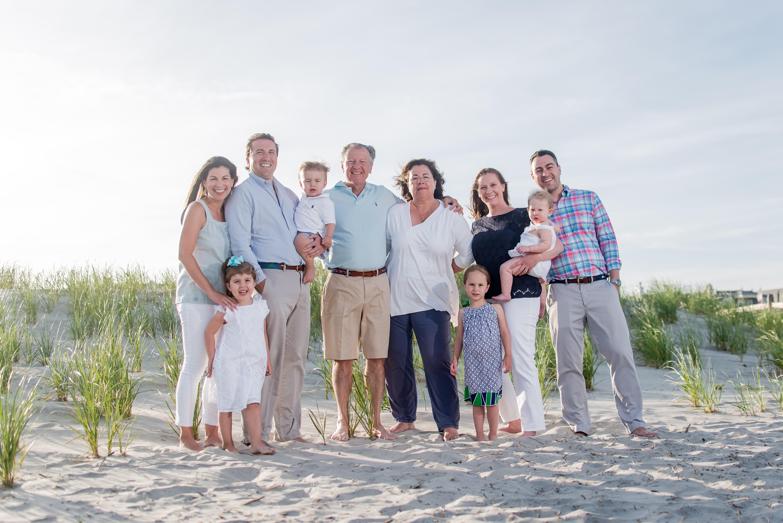 OC NJ family beach portraits