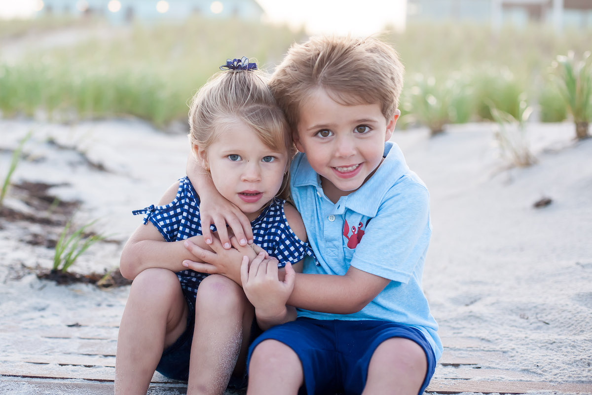 Family Photographers in north beach haven nj lbi