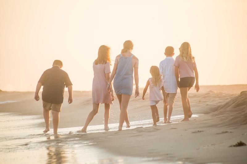 Navarre Beach Family Portrait