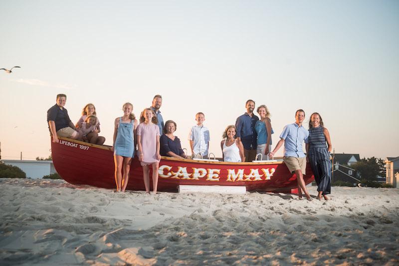 Cape May New Jersey lifeguard boat