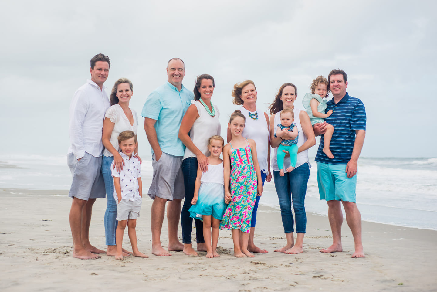 Family Beach Portraits in Fenwick Island