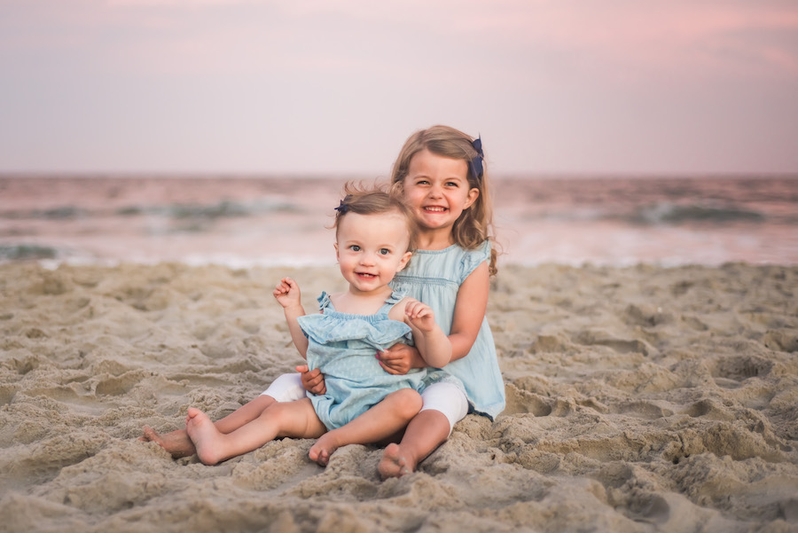 family beach photography in Fort Walton Beach Fl