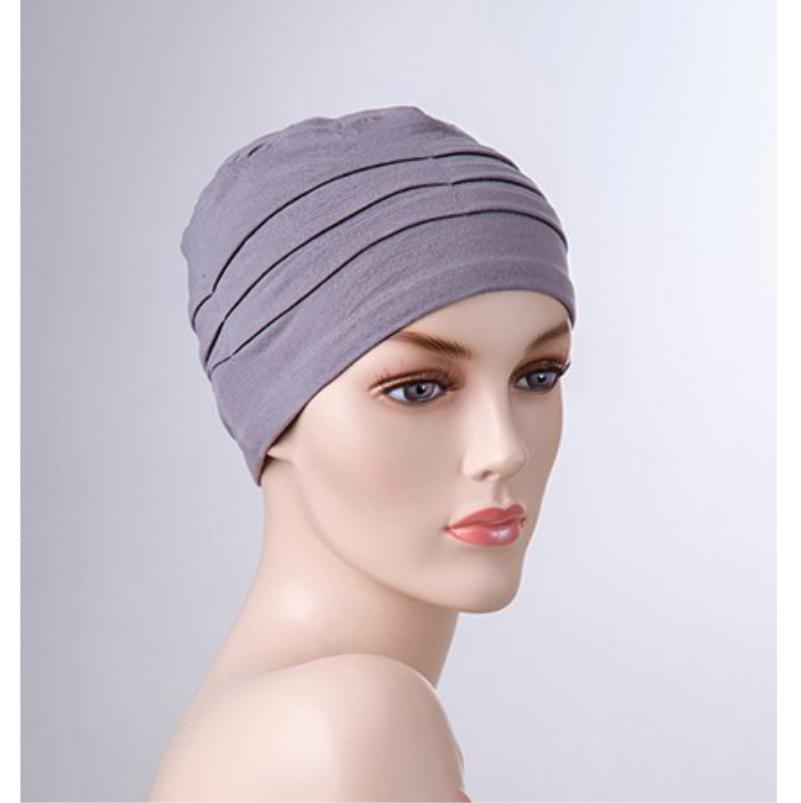 grey bamboo hat