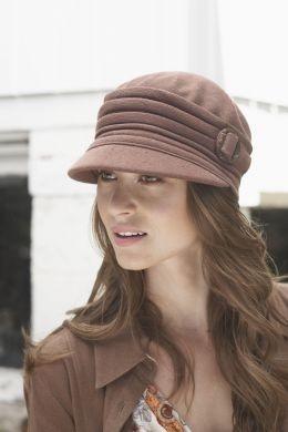 teatree-taupe hat