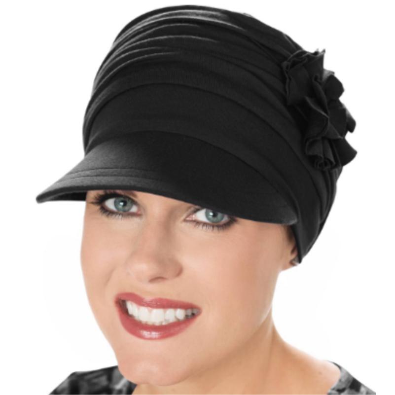 black bamboo hat