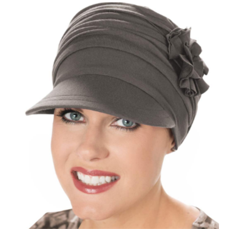 heather taupe baboo hat