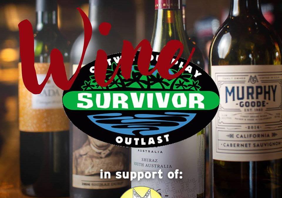 Wine Survivor- Fundraiser November 18/18