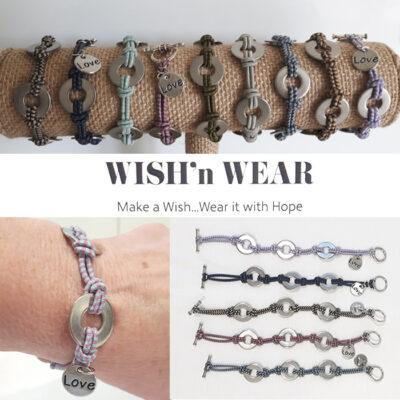 wish n wear fundraiser bracelets