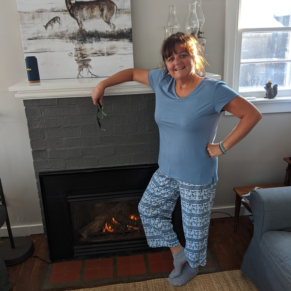 spring hot flash pjs