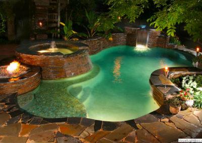 Residential Pool Designs | Freeform, Geometric, Vanishing Edge