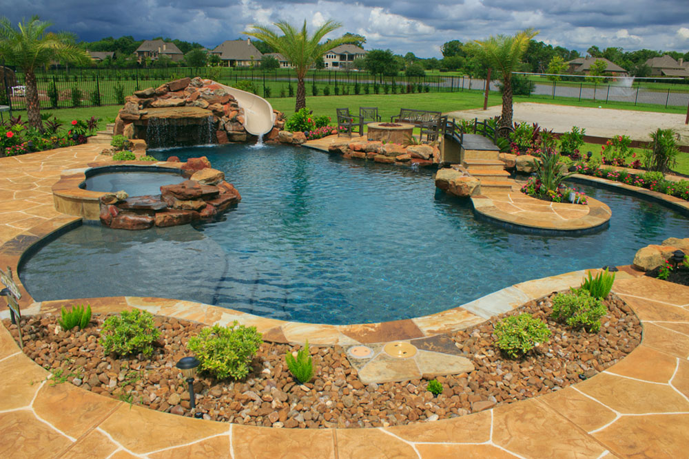 Freeform Pool by Houston Pool Builder Cody Pools