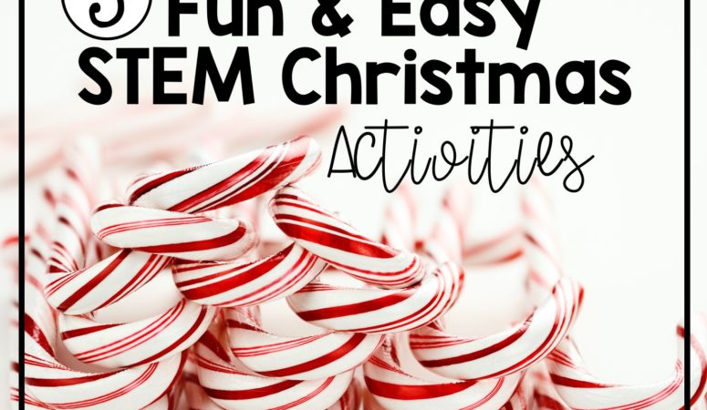 5 Fun and Easy STEM Christmas Activities