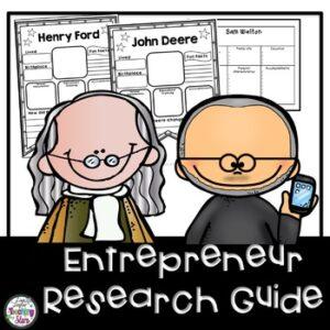 Entrepreneurship: Entrepreneur Research Guide & Banners