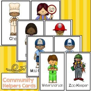 Community Helpers Activity