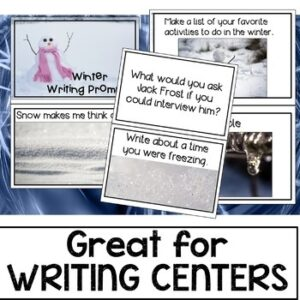 Winter Writing Prompt Cards