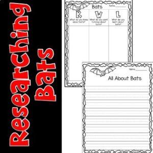 Bats Research Flip Book