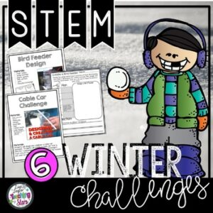 Winter STEM Challenges | January Activities | Google Classroom | Digital