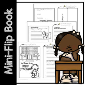 Ruby Bridges Research Worksheets