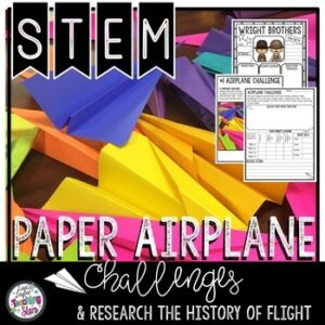 Paper Airplane STEM Activity | Google Classroom | Digital