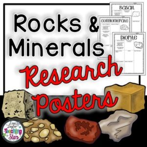 Rocks and Minerals Research Posters