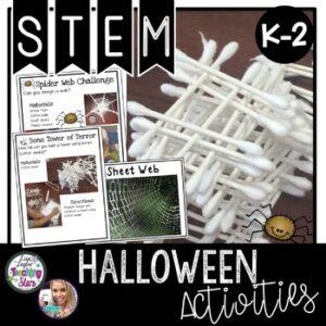Halloween STEM Challenges K-2