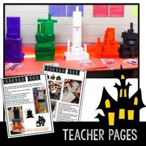 Design a Halloween Haunted House STEM Challenge