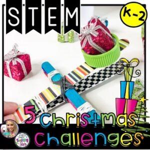 Christmas STEM Challenges K-2