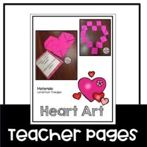 Valentine's Day Heart STEM Challenge
