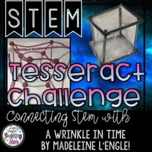 A Wrinkle in Time Tesseract STEM Challenges