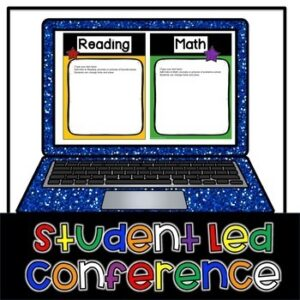 Student Led Conference Digital Portfolio