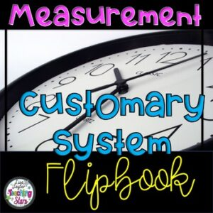 Measurement Customary Flip Book
