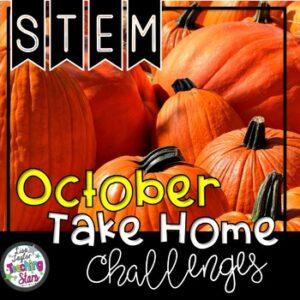STEM October At Home Challenge