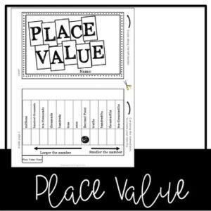 Decimal Place Value Flip Book