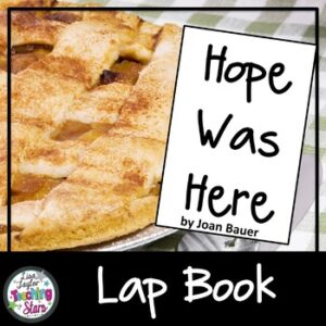 Hope Was Here Novel Lapbook