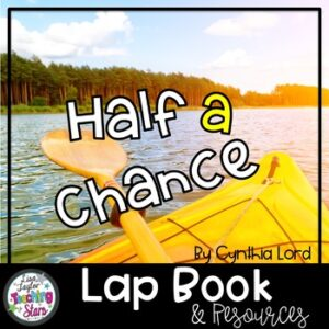 Half a Chance Novel Lapbook