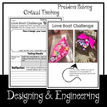 STEM Love Boat Challenge   February STEM