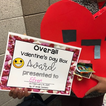 Valentine's Day Box Awards