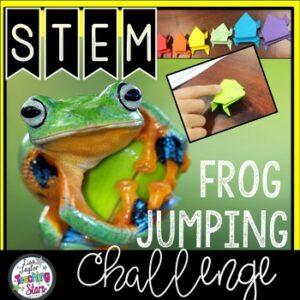 Frog Jumping STEM Challenge
