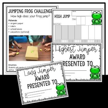 STEM Frog Jumping Challenge