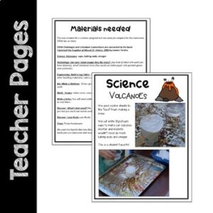 STEM Challenges to use with I Survived the Eruption of Mount St. Helens, 1980