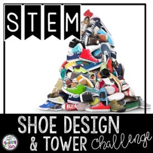 Shoe Design STEM Activity with a Literacy Connection