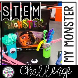 My Monster STEM Activity to use with How I Met My Monster