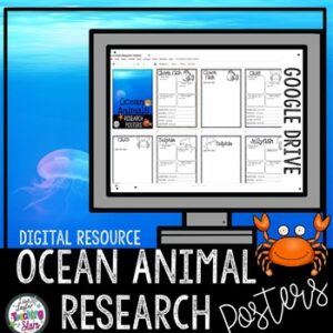 Digital | Ocean Animals Research Posters | Google Classroom