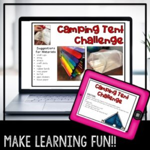 STEM Camping Digital Challenge | Distance Learning | Google Classroom |